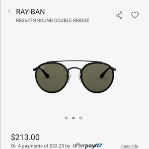 Ray-ban polarized